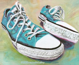 Converse - SOLD - prints available