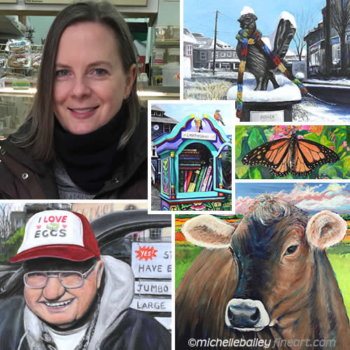 Michelle Bailey About Page Photo Montage