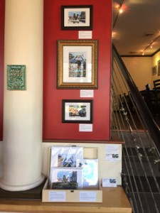 Capital City Cheesecake exhibiting Michelle Bailey framed prints