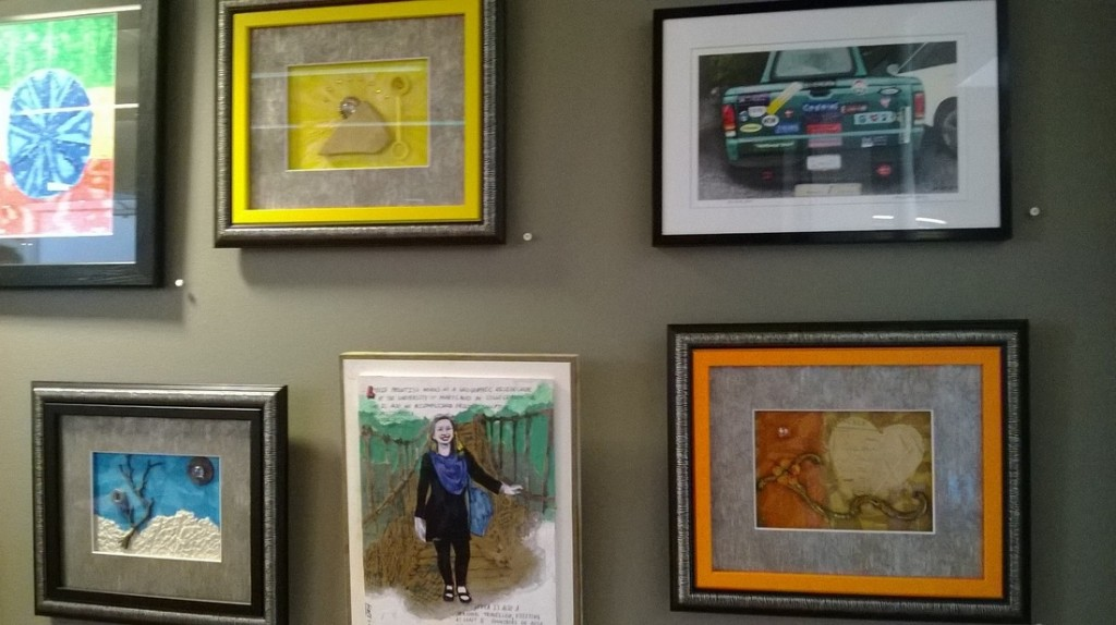 Michelle Bailey painting exhibit in Hyattsville