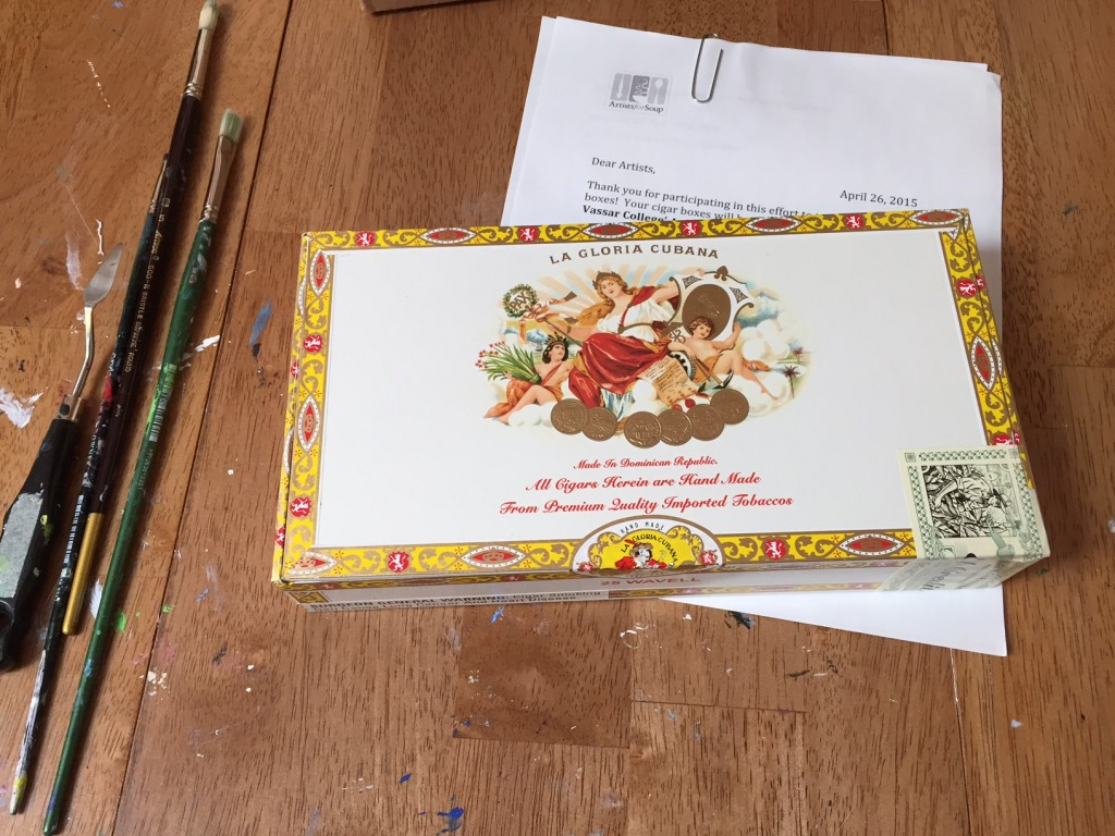 Artists for Soup Cigar Box