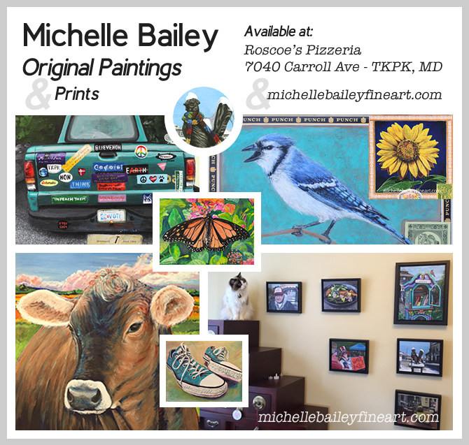 Michelle Bailey Takoma Park, MD Original Paintings & Prints