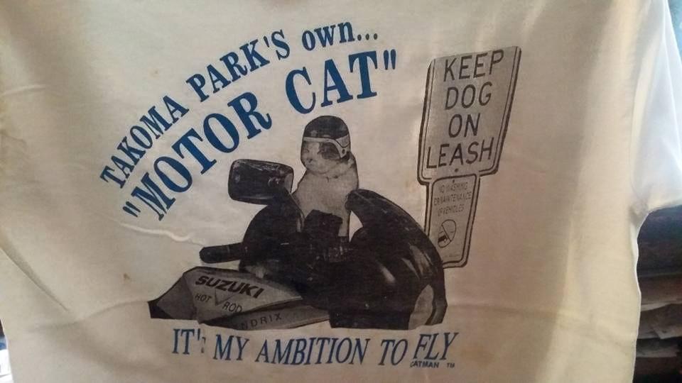 90s Motor Cat T-Shirt